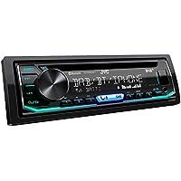 JVC KD-DB902BT - Autoradio DAB+ con CD, vivavoce Bluetooth (processore audio, USB, Android/Apple, Spotify Control, 4 x 50 Watt, colori regolabili), nero