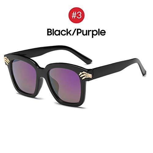 CCGSDJ Schädel-Stil Für Die Verwendung Von Causul Bunte Spiegelklaue Sonnenbrillen Wählen Sie Übergroße Sonnenbrillen Für Männer Und Frauen