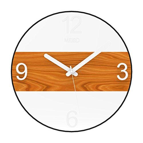 Wohnzimmer kreative Uhr Home Schlafzimmer Wanduhr Moderne minimalistische Kunst Nordeuropäische Quarzuhr,small -