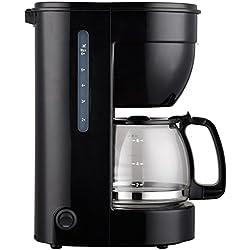 Cafetera eléctrica 0.75l, 6 tazas, jarra de cristal, ERP. THULOS
