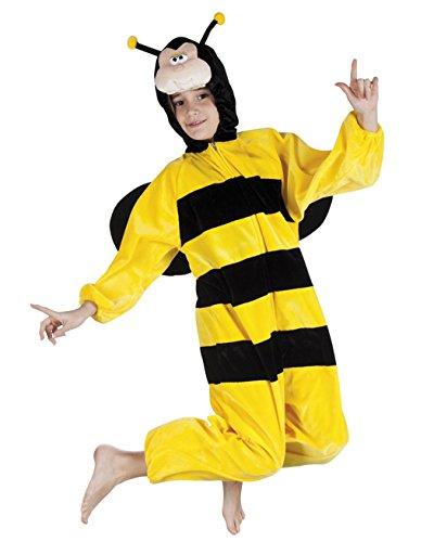 Boland 88214 Kinderkostüm Honigbiene aus Plüsch, 140 (Honig Biene Kostüm Kind)