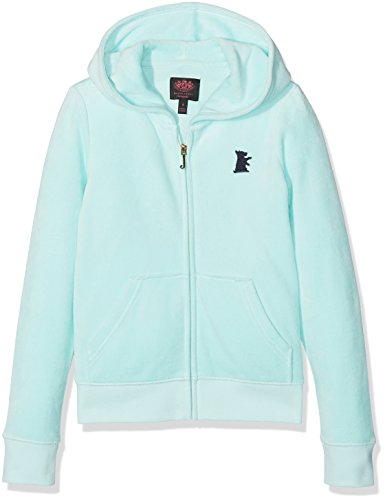 Juicy Couture Juicy Girl (Juicy Couture Mädchen Kapuzenpullover Trk Solid Vlr Robertson Jacket, Blue (Crystal Sea), 8 Jahre)