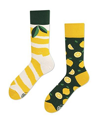 Many Mornings unisex Socken The Lemons (43/46) -