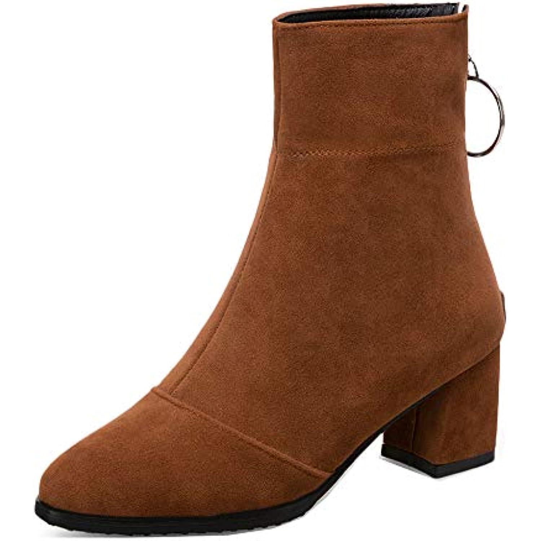 Zip Rising Unique femmes Easemax Block Shoe pour Girl q4AjRL35