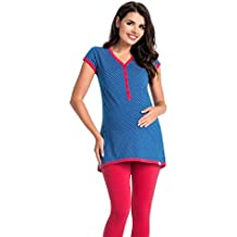 taglia 40 90c86 a0215 Amazon.it: pigiama con bottoni donna