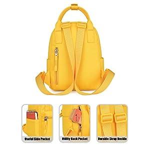 41uxuL4RCTL. SS300  - HotStyle BASIC PACKS EST. 2010 8811s Mochila mini tipo bolso para mujer, Amarillo
