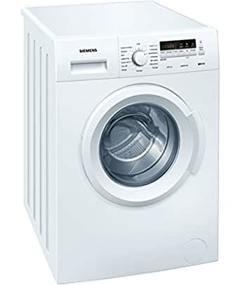 Siemens WM12B211FF Autonome Charge avant 6kg 1200tr/min A+++ Blanc machine à laver - machines à laver (Autonome, Charge avant, Blanc, Gauche, LED, 90°)