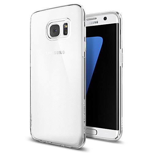 Spigen® custodia galaxy s7 edge, [custodia chiaro cristallo] liquid crystal **estremamente sottile & puro trasparente** - custodia samsung galaxy s7 edge, cover galaxy s7 edge - crystal clear (556cs20032)