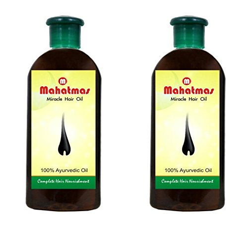 [Sponsored]Mahatmas(PACK OF 2) Active Miracle Hair Oil For Hair Growth, Hair Fall Control For Men And Women , 240ml