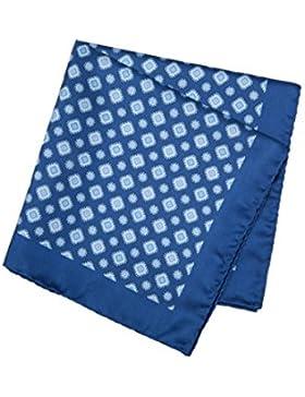 SoloGemelos - Pañuelo De Bolsillo Azul - Azul - Hombres - Talla Unica