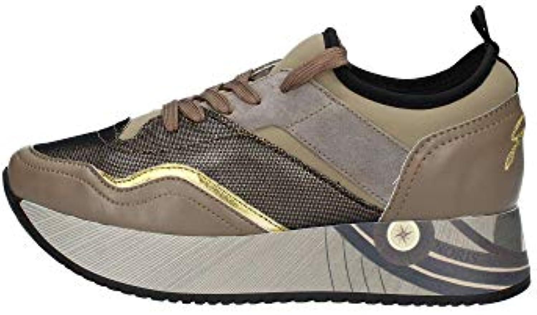 Gattinoni Woman Sport scarpe Calf PU Laminated Taupe oro PIGMA6120WRI444 | Garanzia di qualità e quantità  | Uomini/Donna Scarpa