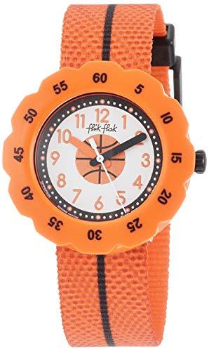 FlikFlak Jungen Analog Quarz Uhr mit Stoff Armband FPSP026
