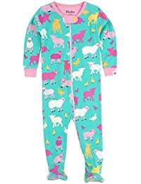 Hatley Footed Coverall-Farm Friends, Polaina para Bebés