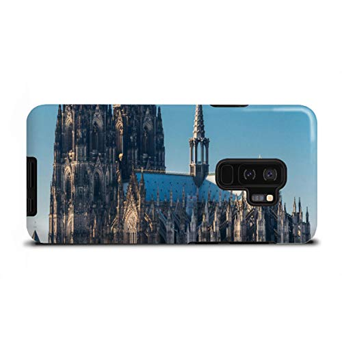 artboxONE Tough-Case Handyhülle für Samsung Galaxy S9 Plus Groß St. Martin von David Engel