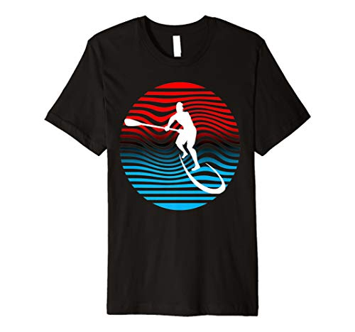 SUP T-Shirt Stand Up Paddeln Surf Board Surfen Tee