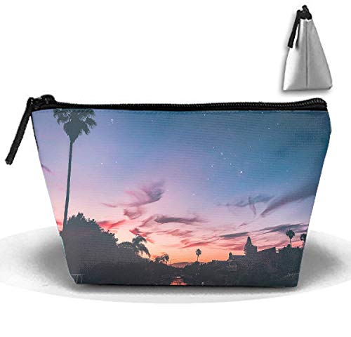 Behalten Sie Ruhe und funkeln Sie Make-upbeutel-Speicher-bewegliche Spielraum-Wäsche-Tote-Reißverschluss-Mappen-Handtaschen-Tragetasche (Zippered Tote Handtasche Bag)