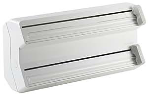 D vidoir distributeur de rouleau film double aluminium - Devidoir cuisine 4 rouleaux ...
