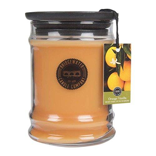 Bridgewater Candles - ORANGE Vanilla - Duftkerze im Glas RAUMDUFT Kerze 70h 250g