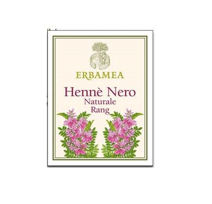 Erbamea - henne' nero naturale rang 1 confezione da 100 gr, colorazione naturale, rinforzante, lucidante.