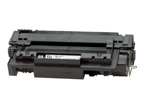 HP Q7551A 51A Toner für LaserJet Standard 6500 Seiten, schwarz HP LaserJet M3027 MFP, M3027x MFP, M3035 MFP, M3035xs MFP, P3005, P3005d, P3005dn, P3005n, P3005x - P3005n Laserjet Toner Hp