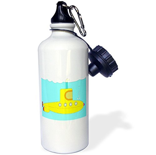 statuear-sous-marin-jaune-en-aluminium-20-once-bouteille-deau-sport-600-ml-coffret-cadeau
