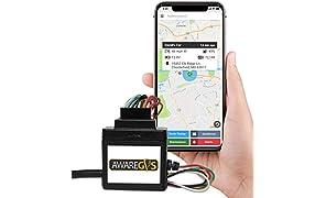 Aware Fahrzeug-Ortungsgerät, GPS- und GPS-Gerät, Bügel, Wired