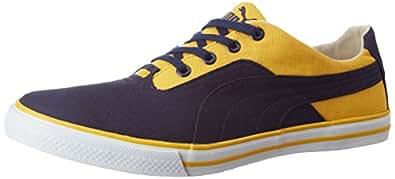 Puma Unisex Slyde Dp Peacoat and Solar Power Sneakers - 10 UK/India (44.5 EU) (36215309)