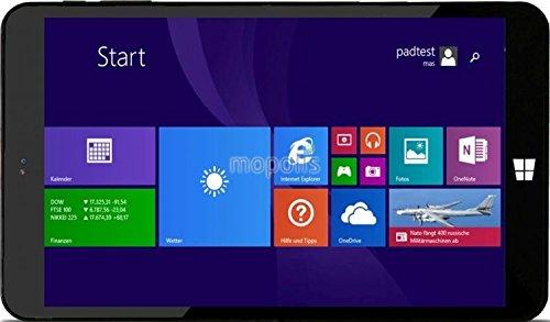 Xoro PAD 8W4 Plus 64GB Negro - Tablet (Tableta de tamaño completo, Windows, Pizarra, Windows 8.1, Negro, Polímero de litio)