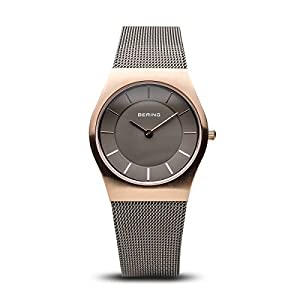 BERING Damen-Armbanduhr Analog Quarz Edelstahl 11930-369