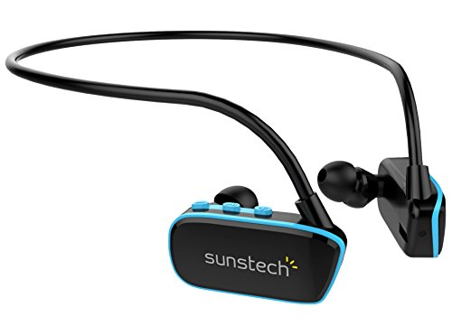 Sunstech ARGOS4GBBL - Reproductor MP3 Resistente Agua