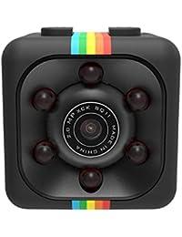 Ncient Mini Cámara Espia HD 1080 Mini Coche Cámara de 360 Grados de Grabación de Video, Cámara De Deporte o Webcam, Soporte Micro SD,…
