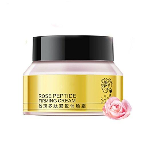Providethebest Rose Peptid Firming Anti Cellulite Skin Care Anti-Aging Anti-Falten-Feuchtigkeitsspendende V-Form Gesicht dünne Creme