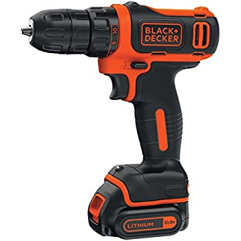 Black + Decker BDCD12K-Qw Perceuse visseuse compact 10,8 V