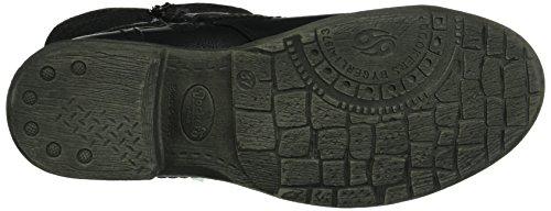 Dockers by Gerli - 36ka317-627100, Stivali a metà polpaccio con imbottitura leggera Donna Nero (Nero (Nero 100))