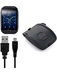 BlueBeach® Ersatz Samsung Gear S R750 USB Ladekabel Ladegerät Ladestation