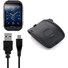 BlueBeach® Reemplazo USB carga cable cargador Dock para Samsung Gear S R750