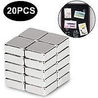 Magnete Würfel, ikalula 20 Stück Neodym Magnete Extra Stark Klein Magnete für Kühlschrank, Magnettafel, Whiteboard, Glasmagnettafel Mini Magnete (10 x 10 x 4 mm) preisvergleich bei kinderzimmerdekopreise.eu