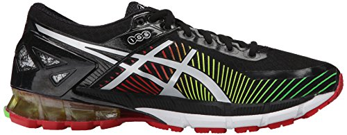 Asics Mens Gel-Kinsei 6 Running Shoe Black/Silver/Red