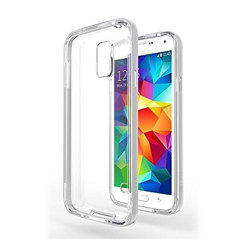 Coque Galaxy S5 Neo - Azorm Hybrid Edition Gris -