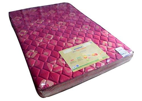 Sleepwell Activa Firmtec Matterress( 72x48x4inches,Marron)