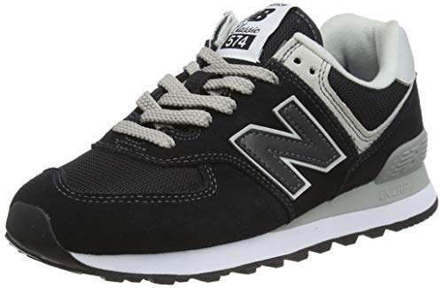 New balance 574v2 core''', scarpa da tennis donna, nero (black), 37.5 eu