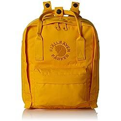 Fjällräven Re-Kånken Mini, Mochila Unisex Adultos, Amarillo (Sunflower Yellow), 24x36x45 cm