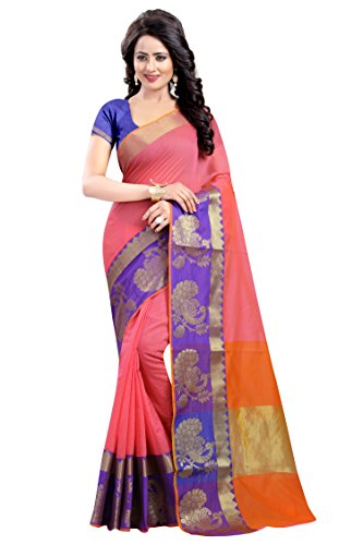Vatsla-Enterprise-Womens-Cotton-silk-Saree-VMORPICH005PINKPINK