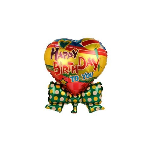 smartcraft Happy Birthday Foil Balloon Green , Kids Birthday Party Supplies , Theme Birthday Party , Foil Balloons