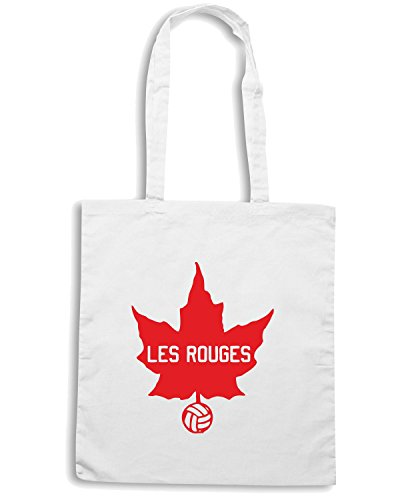 T-Shirtshock - Borsa Shopping WC0447 Les Rouges Bianco