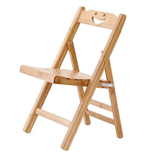 KHL Multifunktionale Bambus klappstuhl, einfache tragbare Kind Bambus Stuhl, Angeln Stuhl, klapp Freizeit Stuhl
