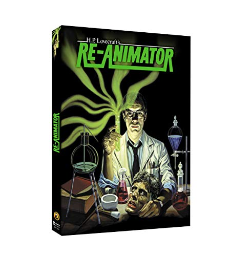 RE-ANIMATOR - 2 Blu-Ray - DIGIPACK 1000EX - MASTER 4K
