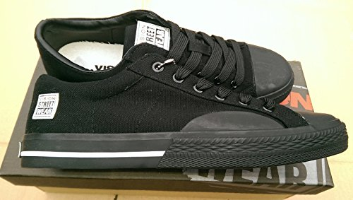 vision-street-wear-hombre-canvas-low-zapatillas-bajas-negro-size-43