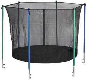 hudora sicherheitsnetz f r trampolin 305 cm 25 mm rohrdurchmesser sport freizeit. Black Bedroom Furniture Sets. Home Design Ideas