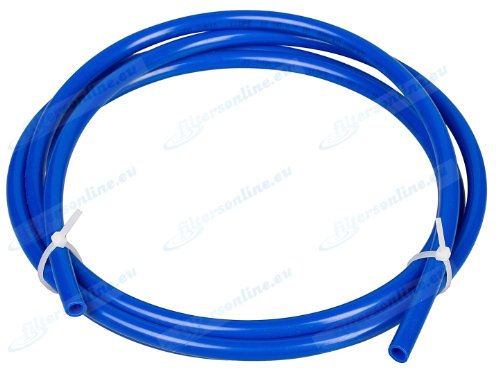 10m Blue Water Tube 1/4 for Reverse osmosis systems, refrigerators, espresso coffee machines, vending machines, water filters. by John Guest (John Guest Fittings)